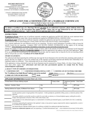 Unrestricted Certified Copy Birth Certificate - Alameda County ...