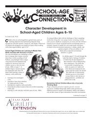 Volume 10, Issue 2, 2001 - Family and Consumer Sciences - Texas ...