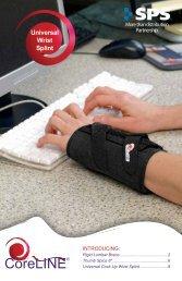 Universal Wrist Splint - SPS