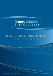 Download the Rules of the Sports Tribunal 2012 (403 KB, PDF)