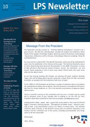 Download October 2012 Newsletter - London Petrophysical Society
