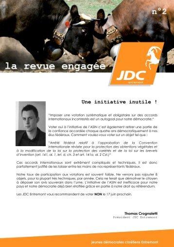 Une initiative inutile ! - PDC du Valais romand