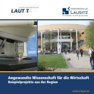 Lausitzer Technologie Transfer - Hochschule Lausitz