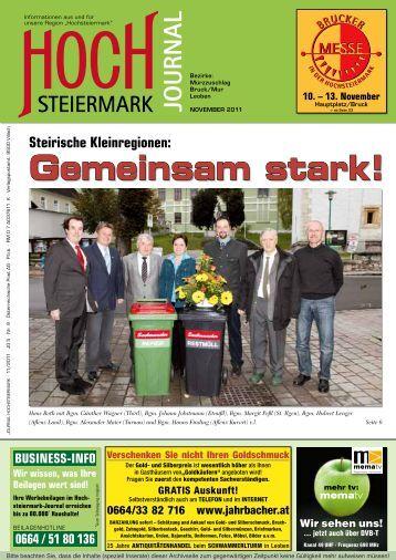 leobener sträußerlmuster - Hochsteiermark Journal