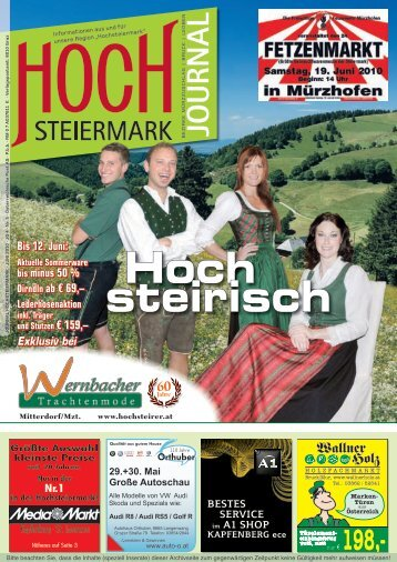 Lederhosenaktion - Hochsteiermark Journal