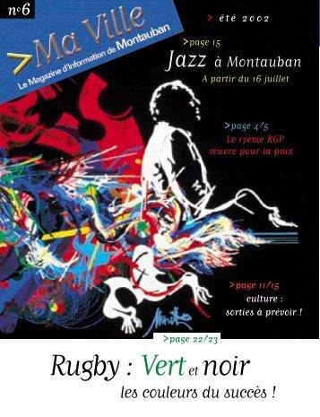 Rugby : Vertet noir - Montauban.com