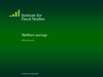 Download full version (PDF 146 KB) - The Institute For Fiscal Studies