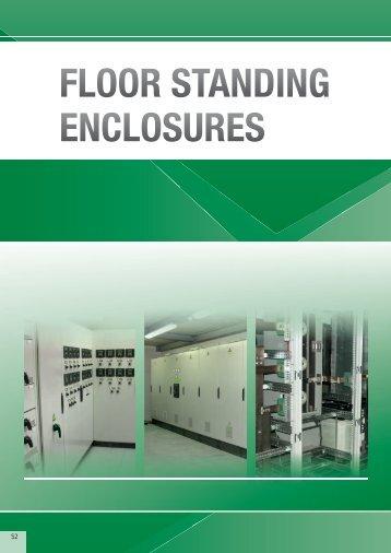 Floor Standing Enclosures accessories - Eldon