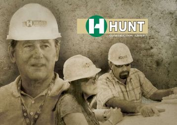 Our Industry Experience - Hunt Construction Group