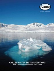 CHILLED WATER SYSTEM SOLUTIONS - ArctiChill