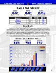 Download 2011 Police Department Annual Report (2 MB PDF) - Page 4