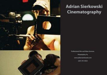 Adrian Sierkowski Cinematography