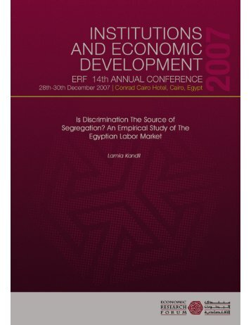 Untitled - Economic Research Forum