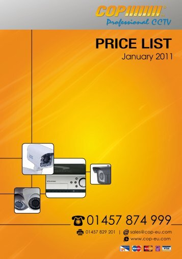 PRICE LIST - COP Security