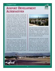 chapter four airport development alternatives.pdf - Jackson County ...