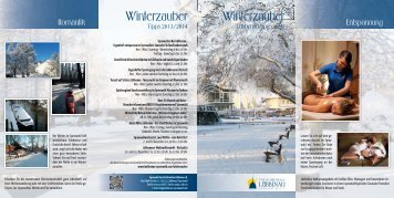 Winterbroschüre-Download - Spreewald