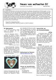 Juni Ausgabe 2011 - World's Christian Endeavor Union