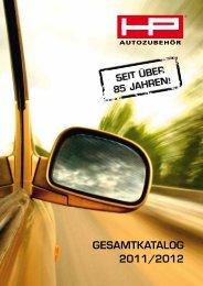 GesamtkataloG 2011/2012 - HP-Autozubehoer