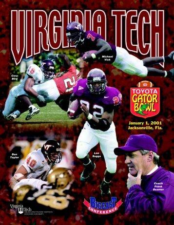 2001 Gator Bowl - HokieSports