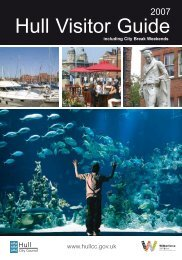 2007 Hull Visitor Guide - University of Hull