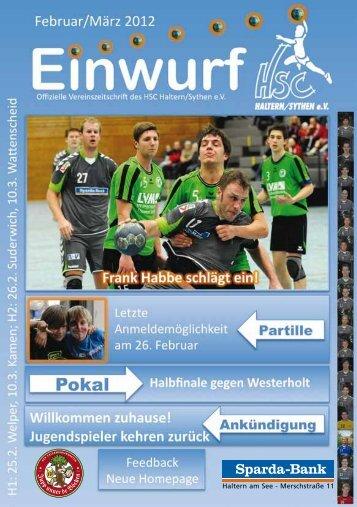 HSC Magazin 2012-02-25 - HSC Haltern-Sythen 1992 e. V.