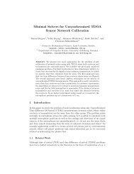 Minimal Solvers for Unsynchronized TDOA Sensor Network ...