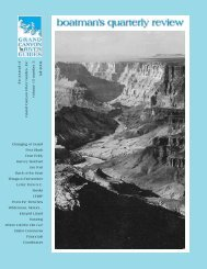 fall 02 / 15:3 - Grand Canyon River Guides