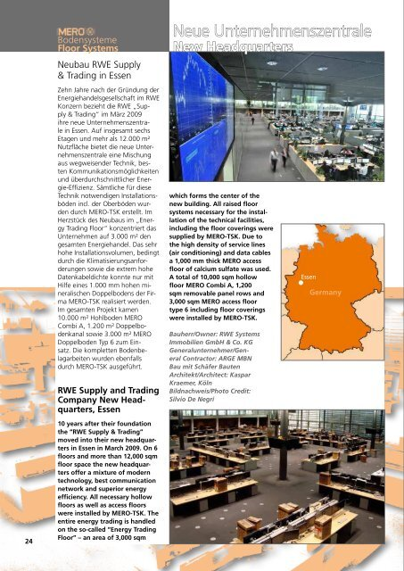 Bausysteme Construction Systems - Interflooring