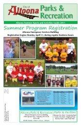 Summer Program Registration - School District of Altoona