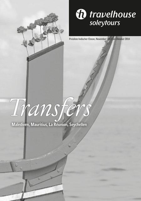 Transfers Indischer Ozean - Travelhouse