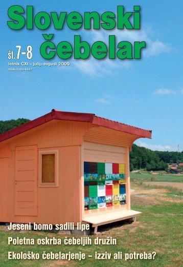 Cebelar-Ovitek 07-0809.indd - Čebelarska zveza Slovenije
