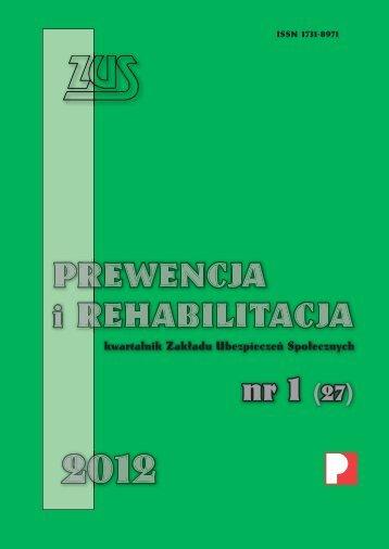 Prewencja i Rehabilitacja 1/2012