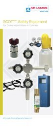 Scott™ Safety Equipment - Air Liquide America Specialty Gases