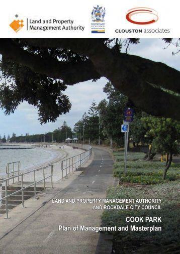Cook Park Plan of Management - Rockdale City Council