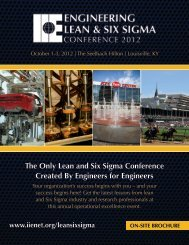 Review the 2012 Conference Brochure - Institute of Industrial ...