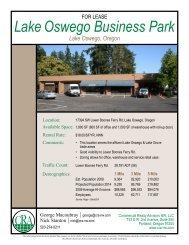 Lake Oswego Business Park - Commercial Realty Advisors