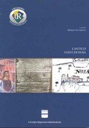 L'antico stato di NOJA - Precedente versione del sito - Consiglio ...