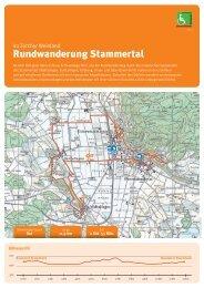 Rundwanderung Stammertal - Zürcher Wanderwege