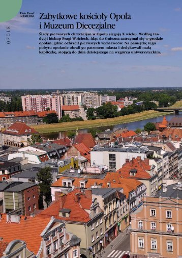 Zabytkowe kościoły Opola i Muzeum Diecezjalne - Opole