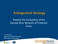 DANUBEPARKS Enlargement Strategy (C.Manzano) (.pdf, 795 KB)
