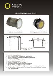 Datenblatt SL 25 Deutsch - LED