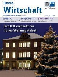 IHK-Magazin 12 2010.indd - Industrie und Handelskammer zu Coburg
