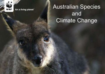 Australian Species and Climate Change - wwf - Australia
