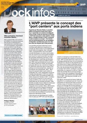 Télécharger Dock infos N°85, avril 2013 - AIVP