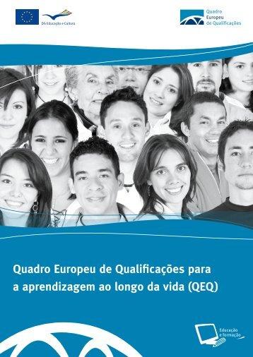 Quadro Europeu de Qualificações para a aprendizagem ao longo ...