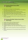 Makan Secara Sihat di Hari Raya - Kementerian Kesihatan Malaysia - Page 5