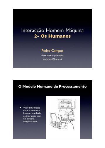 Slides em PDF Colorido - Universidade da Madeira