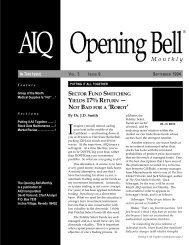 September 1994 - AIQ Systems