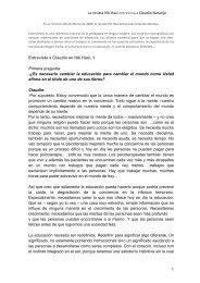 1 La revista Hik Hasi entrevista a Claudio Naranjo Entrevista a ...