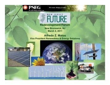 Alfredo Z. Matos Redevelopment Forum - New Jersey Future